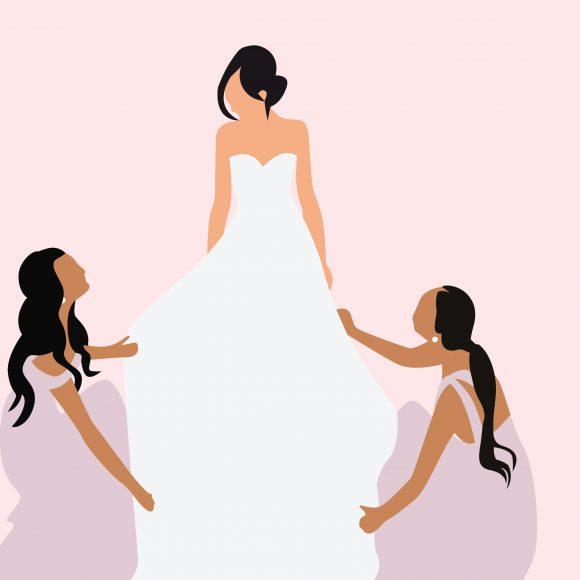 Content Savvy Portfolio - Bridesmaids Dressing Room
