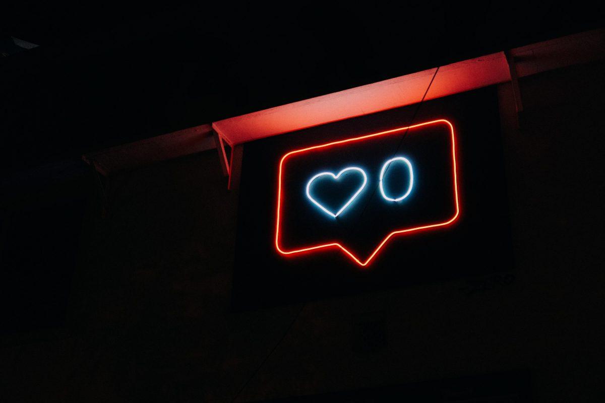 Like neon sign