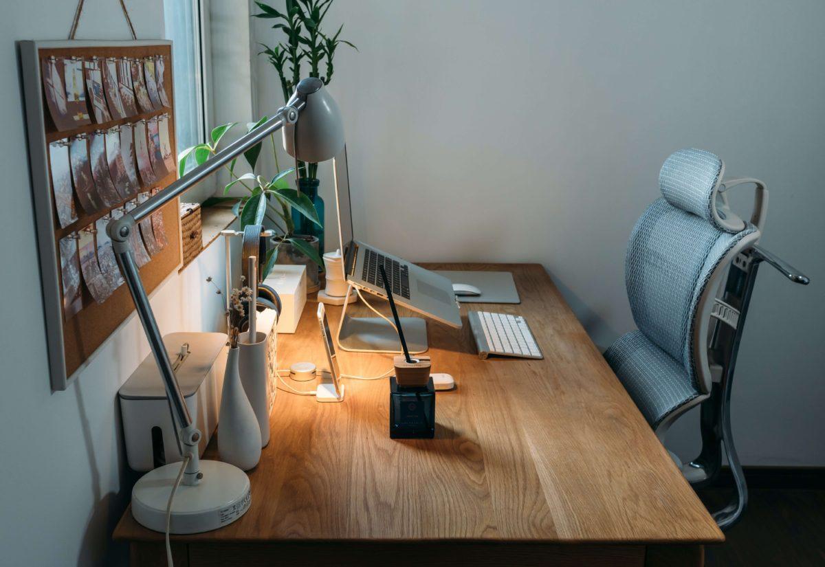 Lighting for work desk